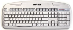 UnoTron Vaskbart SpillSeal® DANSK Keyboard (S5000K-G) Grå- Click to close