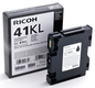 405765 Ricoh Aficio 3110 Sort Gel (Toner) Type GC41KL