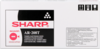 AR-208LT Sharp AR-203 5420 Toner Black Sort