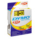 DYMO Standard tape Hvid m/Sort skrift 19mm bred