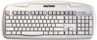 UnoTron Vaskbart SpillSeal® DANSK Keyboard (S5000K-G) Grå
