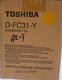 4429904800 Toshiba eStudio 210C D-FC31-Y Developer Gul Yellow